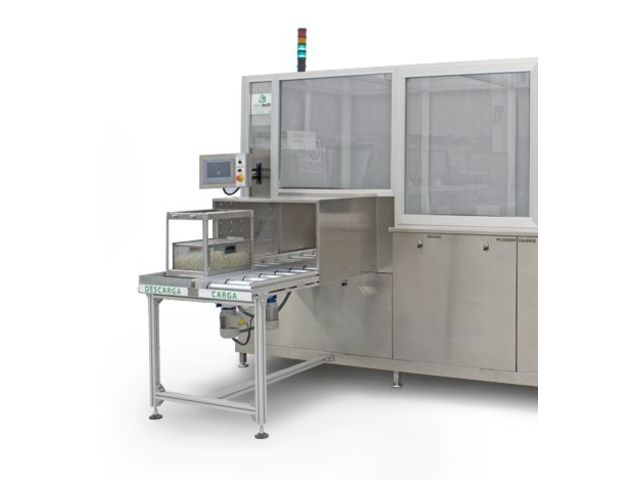 Modular ultrasonic cleaning system : TT Automatic Smart 150 - TIERRATECH SARL