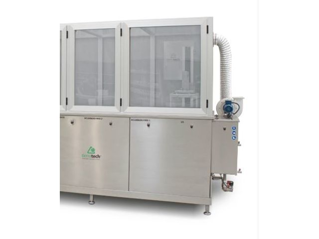 Modular ultrasonic cleaning system : TT Automatic Smart 150 - Ultrasonic cleaning equipment