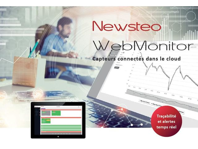 Newsteo Webmonitor, web application for Newsteo data loggers management