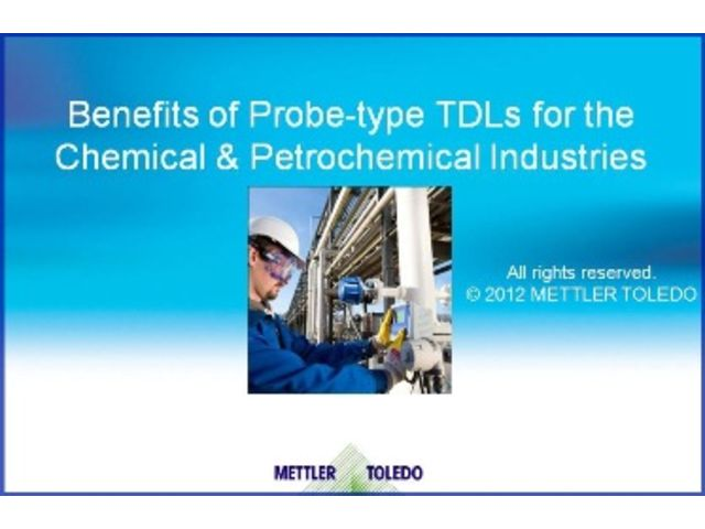 Online training :  Benefits of Probe-type TDLs for the Chemical & Petrochemical Industries