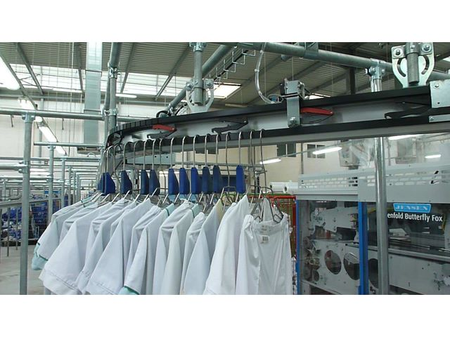 OVERHEAD CONVEYOR - POLARIS CP2100 SYSTEM | Contact OUEST CONVOYEUR ...