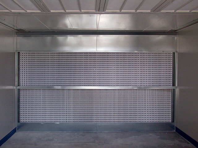 Painting booths with dry filtration - Paint booth