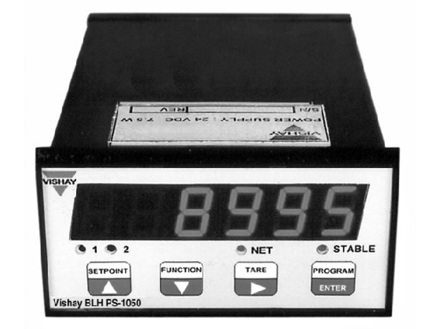 Panel Mount 4 20 Ma Digital Indicator : Panel mount load cell indicator transmitter model ps