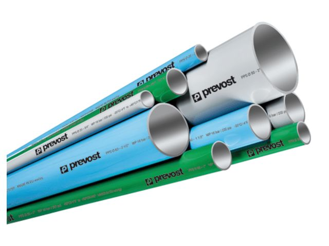 PIPES AND FITTINGS FOR COMPRESSED AIR RINGMAINS   Contact PREVOST ...