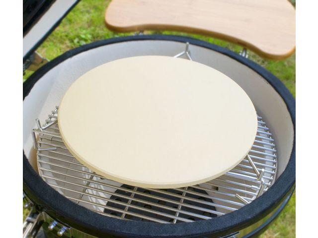 Pizza Stone Cooking Grid Elevator - BBQ Kamado Grill - COMEX EURO DEVELOPMENTS