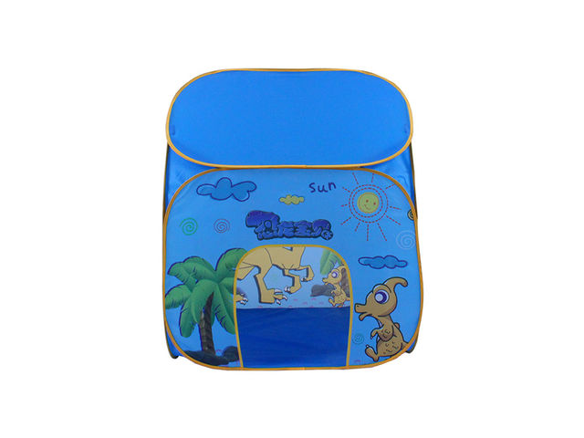 Pop-Up Kids Play Tent - Blue Small House - Play area equipment