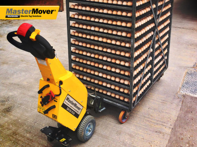 Powered Tug | SmartMover SM100+ - product presented by MASTERMOVER