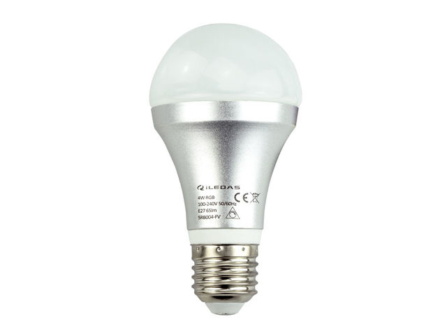 Rgb Led Lamp : Led indoor lighting w gu ° rgb lamp with remote controller