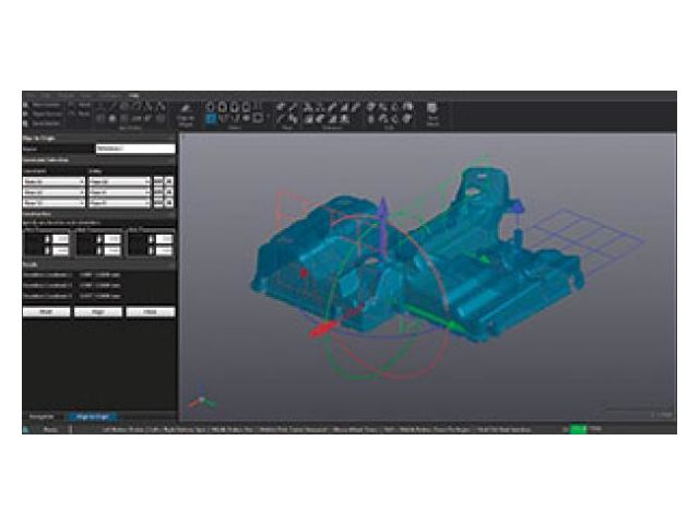 Scan-to-CAD Software Module : VXmodel