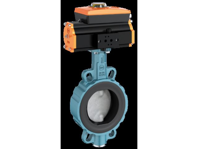 Shut-off and control valve type Z 011-A