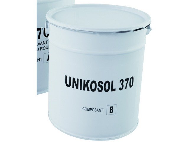 Quote Solvent-free epoxy floor coating Dry film thickness: 285 microns (1 x 400g/m²) : UNIKOSOL 370 L