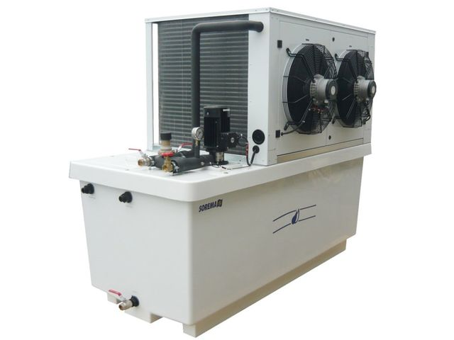 SOREMA water chillers RIS H series - (from 1 to 54 kw)