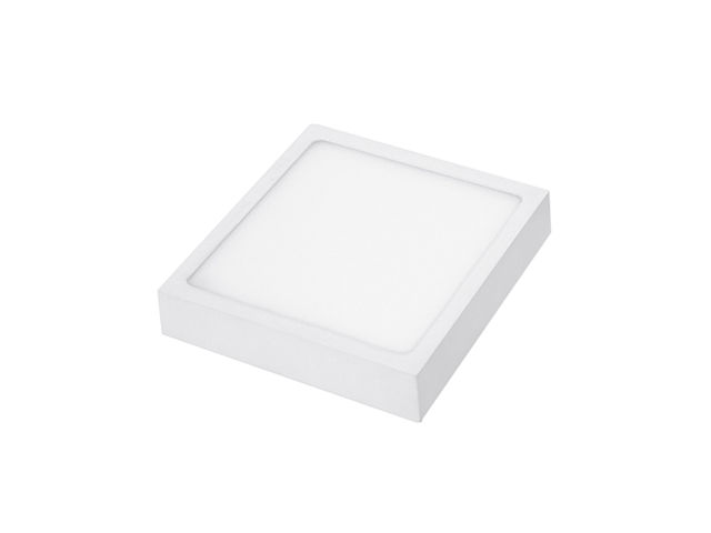 Square LED Panel Light - 90 mm - 6 W, 420 lm, 3000 K, White - ITEC-PRO COMEX EURO DEVELOPMENT