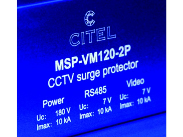 Surge protector for video survey camera : MSP-VM series - product presented by CITEL-2CP