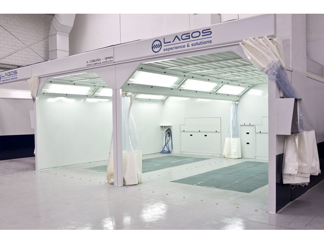 Rooms: Tailor Made Spray Booth, Paint Mixing Room And Preparation