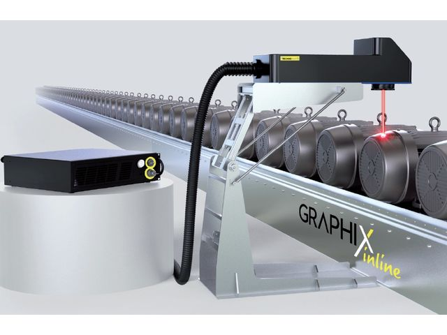 The laser technology - Graphix Inline