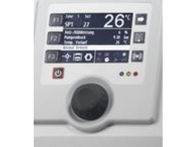 The temperature control unit for oil up to 150 °C and water up to 90 °C :  150S