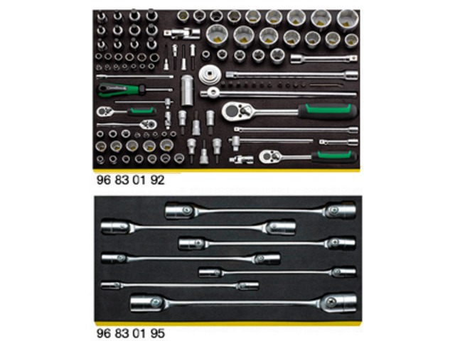 Tool set for Porsche - 228 TOOLS - STAHLWILLE