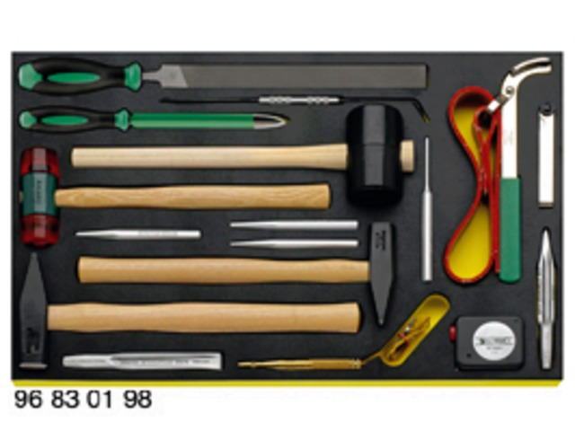 Tool set for Porsche - 228 TOOLS - product presented by STAHLWILLE