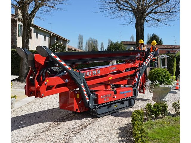 Tracked aerial platform Lightlift 26.14 Performance IIIS - product presented by HINOWA