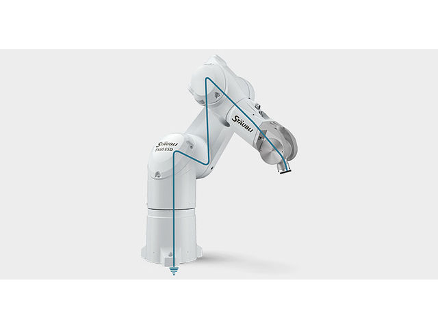 TX60 ESD 6-axis robotic arm - product presented by STÄUBLI ROBOTICS