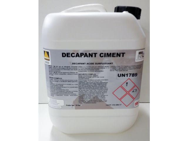 Ultra-powerful cement remover - DECAP CIM SF