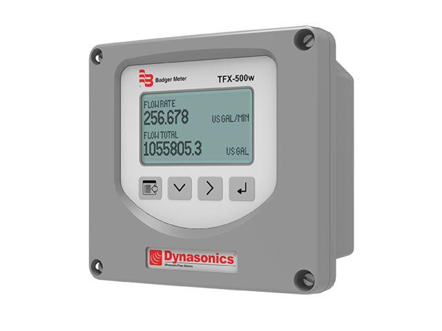 Ultrasonic flowmeter for liquids