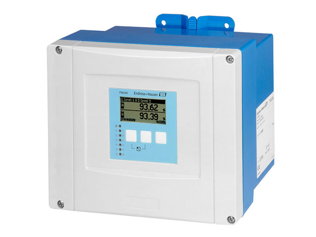 Ultrasonic Measurement Time Of Flight Prosonic FMU90 Transmitter In Housing  For Field Or Top