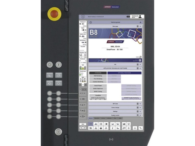 Unilog B8 Control terminal with touch screen / panel-mount / HD1080 / VIA