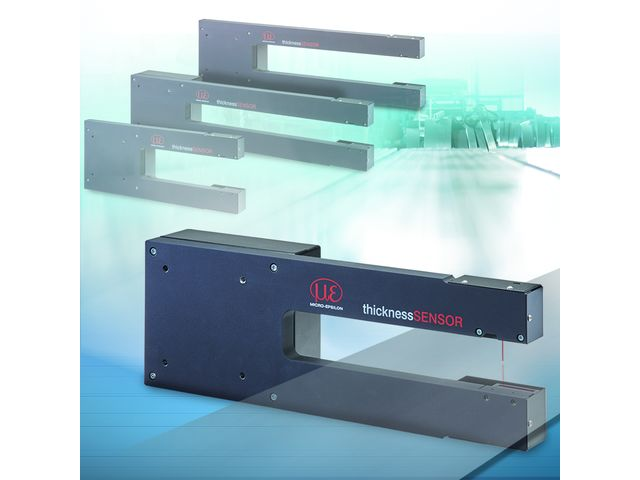 Universal thickness measurement with extended measuring ranges