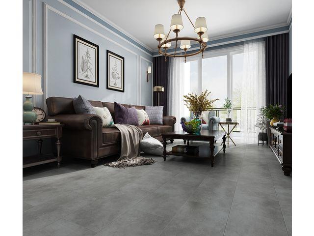 Vinyl Flooring Tiles With System, Gray Vinyl Flooring Living Room
