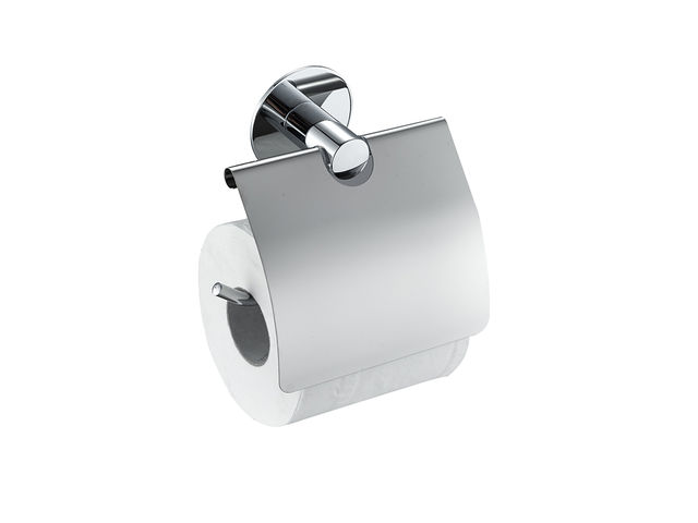 Wall Mounted Toilet Paper Holder wall mounted toilet paper holder with flap - no drilling | contact