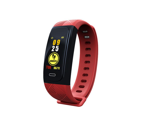 Waterproof fitness bracelet with activity tracking and GPS functions - Red - COMEX EURO DEVELOPMENTS