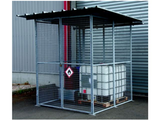 Wire mesh covered shed MODUL+ | Contact PROVOST EXPORT