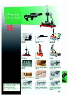 Measurement instruments - VENTE DIRECTE SERVICE