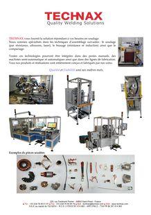 metal assembling machines - TECHNAX