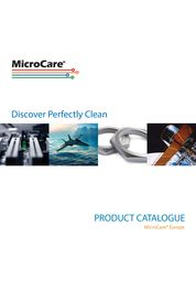 PRODUCT CATALOGUE MicroCare® Europe
