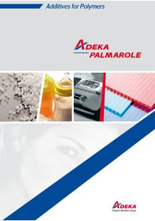 Additives for Polymers - ADEKA PALMAROLE