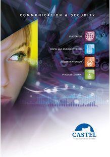 CASTEL catalog - Intercom and access control solutions - CASTEL