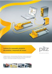 Programmable safety and control systems - PILZ FRANCE ELECTRONIC