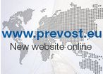 Discover our new website - www.prevost.eu !
