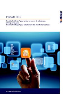 ProMinent Product Overview 2015 - ProMinent France S.A.S