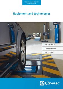 Equipments and technologies for light vehicles inspection - CAPELEC Sarl