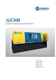 JUCAM - Grinding of camshafts and individual cams - JUNKER MASCHINEN
