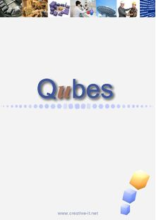 Qubes, MES software package that enhances your industrial performance - CREATIVE INFORMATION TECHNOLOGY