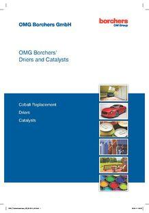 OMG Borchers - Driers and Catalysts - OMG BORCHERS SAS