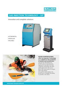 Gas injection technology - BAUER COMPRESSEURS
