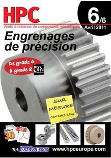 Volume 6 - Precision gears - ENGRENAGES HPC SARL