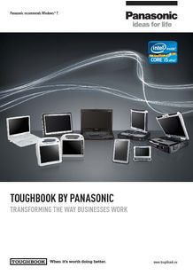Panasonic Toughbook rugged notebook and tablets - PANASONIC TOUGHBOOK