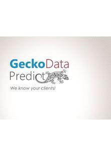 Gecko Data Predict: SaaS Predictive analysis software. - NP6